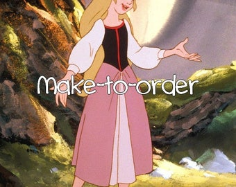 Eilonwy cosplay costume the black cauldron