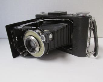 Vintage Kodak No 1 Diomatic Folding Camera Kodak 620 Film 100mm