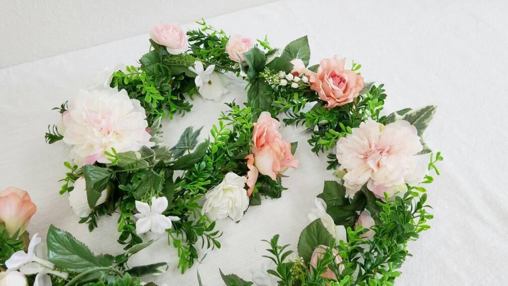 Flower Garland Floral Garland Wedding Garland Silk Flower Garland Wedding Flower Garland