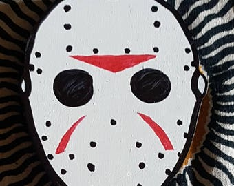 Friday the 13th Jason Voorhees Mask magnet