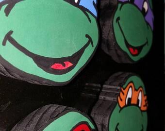 Teenage Mutant Ninja Turtles 90's Magnets.