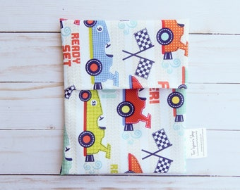 reusable lunch bag for boys - reusable snack bag for boys - snack bag for kids - lunch bag for kids - lunch container for boys - lunch bag