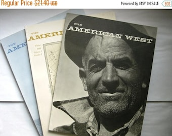 The American West, The First 3 Issues, 1964, Winter Spring Summer, I Love the Ansel Adams Wild West