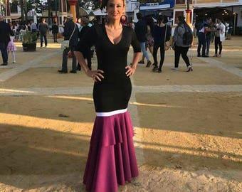 Point Flamenco dress