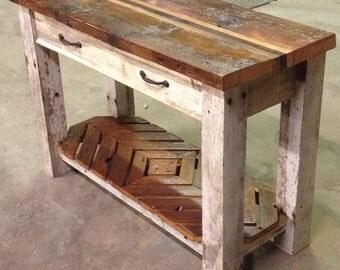 Reclaimed Lumber Table