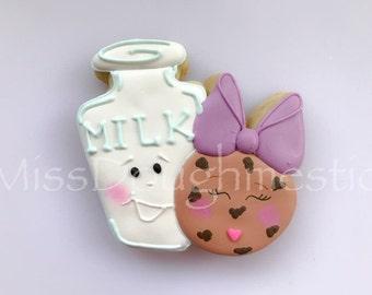 Miss Doughmestic's cozy pairs  cookies & milk