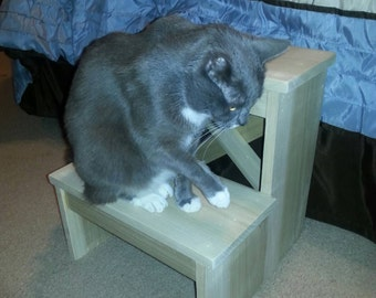 Pet Bedside Step Stool Stairs