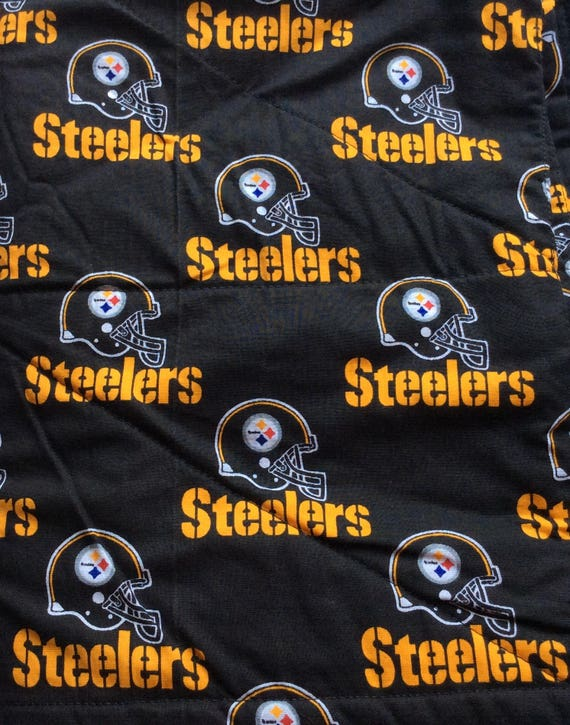 homemade quilted golf cart seat covers pittsburgh steelers 100 cotton from quiltedseats on. Black Bedroom Furniture Sets. Home Design Ideas
