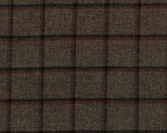 1701/19 Scottish Tweed Fabric 100% Pure Wool By The Metre