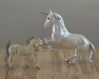 Vintage Breyer Horse Unicorns