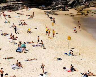 Australia, Beach Ocean Photography, Wall Print, Home Decor, Blue, Surf, Fine Art, Travel, Lifestyle.