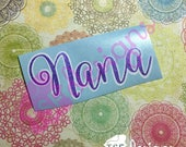 Double Layer Glitter Name...