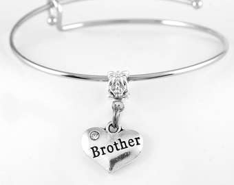 Brother Bracelet Brother Gift Brother Jewelry Brother Present European Style  Brother Jewelry