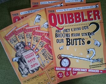 Quibbler Magazine - 28 pages, real text