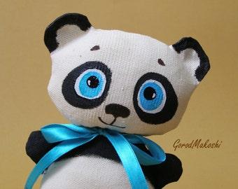 Vanilla toy white POLAR BEAR and PANDA Stars - 15 cm - plush - original pattern - best gift toy