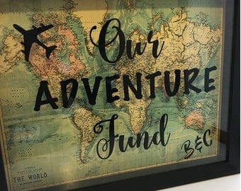 Our Adventure Shadow Box