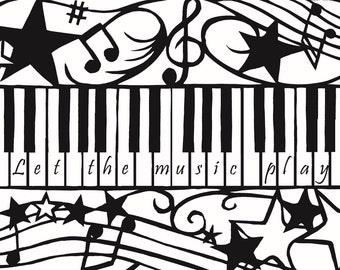 Personalised Piano Keys