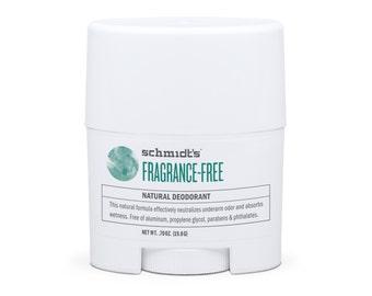Fragrance-Free Travel-Size Stick (.7 oz.) - Schmidt's Natural Deodorant