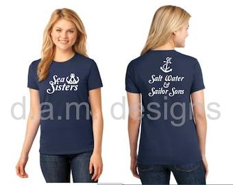 Sea Sisters Tshirt