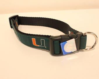 University of Miami Dog Collar