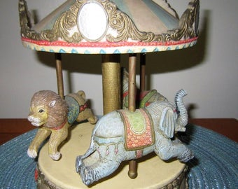 Summit Collection Carousel, Merry-go-Round Music Box Carousel/Merry Go Round By Summit Collection Exclusive.  Musical Merry Go Round