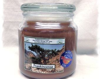 Frankincense Paraffin Container Candle