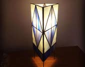 Handmade Stained Glass Lantern with electrical
