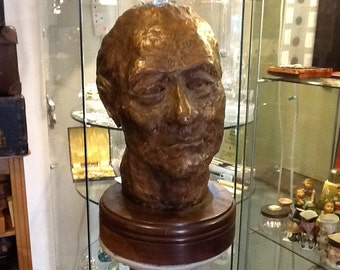 Clay sculptured Head (carriage extra)