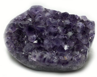 Amethyst bevel, side polished, 3300 g
