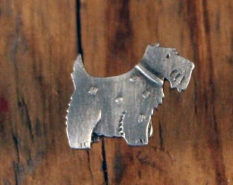 Scotty Dog Pin