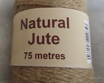 Natural Biodegradable Jute 75m