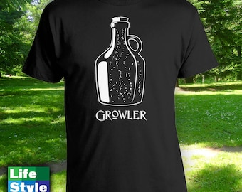 Growler Shirt - Pint Half Pint Matching Fathers Day Shirt, Fathers Day Gift, Christmas Gift, Gifts for Him from Wife, Birthday Shirt CT-1211