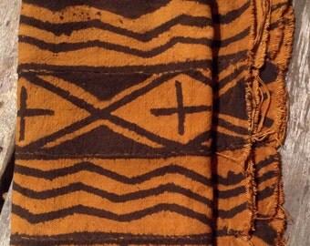 Bogolan, textile fabric handmade African fabric Mali