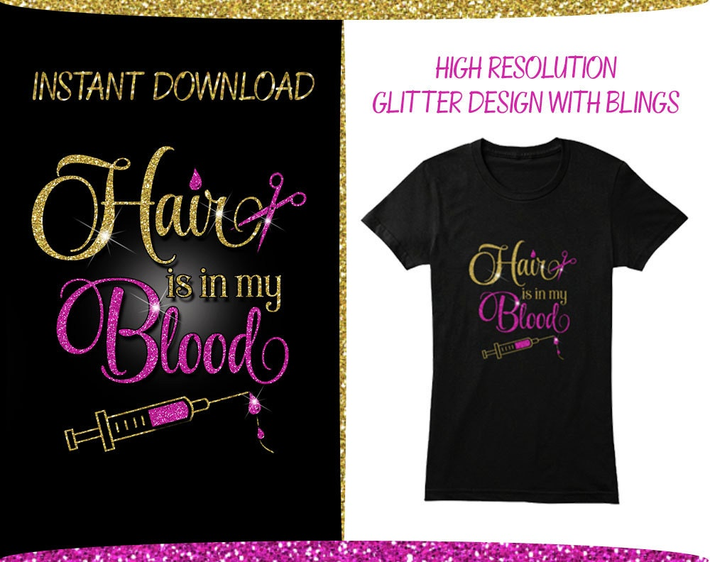 Shirt design with scissors