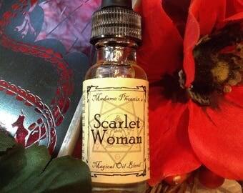 Scarlet Woman Thelema Babalon Magical Ritual Essential Oil Perfume