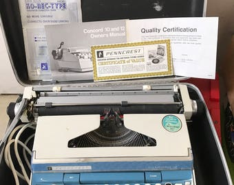 Vtg JCPENNY/ Penncrest Electric Typewriter 70s?
