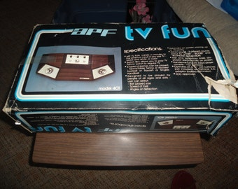 Vintage, APF TV Fun Game, Vintage Video Games, Game Consoles, Atari, Game Systems, Gift for Him, Vintage Electronics, Gift for Her, Consoles