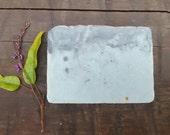 Bella Donna | Violet & Black Fennel Tea Beeswax Soap | Handmade Cold Process Vegetarian Soap