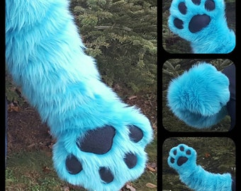Fursuit Handpaws With Sleeves