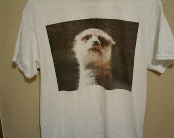 Awsome weasel t-shirt medium