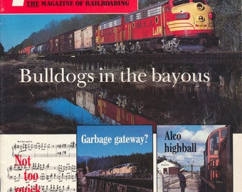 TRAINS MAY 1985 The Magazine of Railroading, Train Railroad Railroads Magazine!