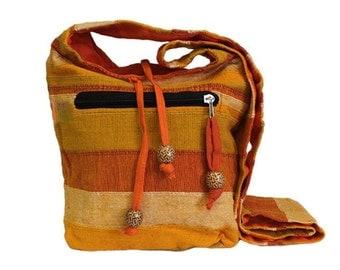 Bag, eco bag, orange, orange tones