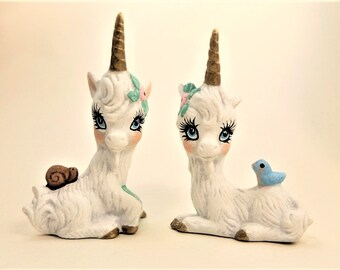 Ceramic Unicorn | Hand Painted Unicorns | White Unicorn