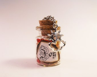 Joy Bottle Necklace