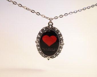 Undertale Soft Heart~DETERMINATION Necklace