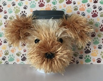 Yorkie Mug (Cozy) - I love Yorkies - Yorkie Cup (Cozy) - Miniature Yorkie - Teacup Yorkie - Crazy Dog Lady - Dog Mama - Fur Mama - Fur Kid
