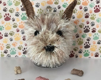 Dog Treat Jar - Cairn Terrier Gift - Wizard of Oz Dog - Dog Treat Container - Crazy Dog Lady - My Kids Have Paws - Dog Treat Holder