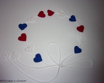 4th of July,Memorial Day Headband, Patriotic Headband - Red, White, Blue,- Independence Day Headband,USA!