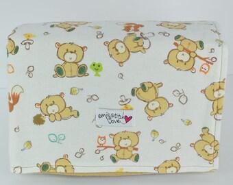 Receiving Blanket- Brown Bears