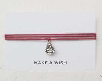Wish bracelet, make a wish bracelet, buddha bracelet, W47